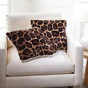 Warm & Cozy Set of 2 Faux Fur Decorative Pillows