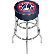 Washington Wizards NBA Padded Swivel Bar Stool