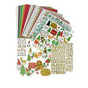 We R Memory Keepers Holiday Gnome Paper Crafting Kit