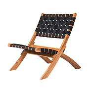 Well Traveled Living Sava Folding Outdoor Chair