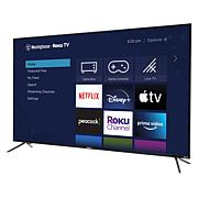 """Westinghouse 70"""" Roku 4K UHD TV with HDR 10, Smart Assistant & Voucher"""