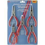 Westrim Crafts Jeweler's Precision Mini Pliers Tool Set