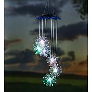 Wind and Weather Solar Flower Color-Changing Mobile 2-pack