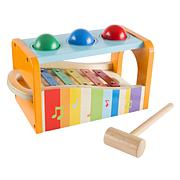 Wooden Bench Toy with Musical Xylophone for Toddlers and Kids by He...
