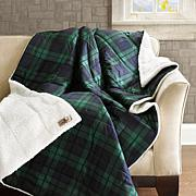 Woolrich Brewster Softspun Down Alternative Throw