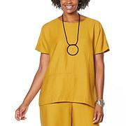 WynneLayers Sedona Cocoon Top with Seam Detail