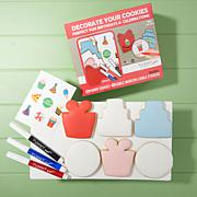 Yummy Art 6-pack Birthday Cookie Decorating Kit