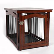 zoovilla Medium 2-in-1 Crate and Gate