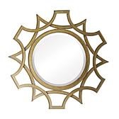 "ELK Lighting 40"" Abberly Gold Metal Mirror"