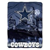 """Officially Licensed NFL 60"""" x 80"""" City View Silk Touch Throw"""