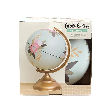 1 Canoe 2 Globe Gallery Bundle - Rose Floral