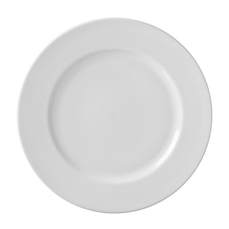 10 Strawberry St White 11\  Dinner Plate - 6  sc 1 st  HSN.com & 10 Strawberry Street Classic White 11\