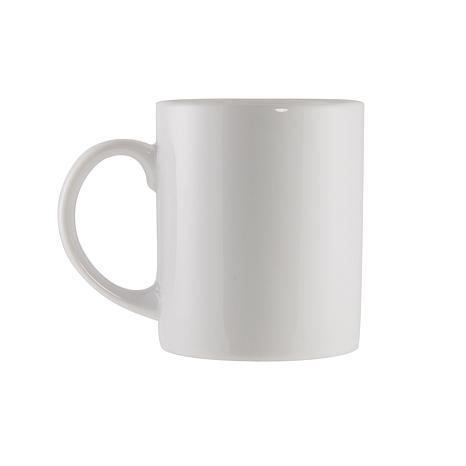 10 Strawberry Street Classic C-Handled White Mugs