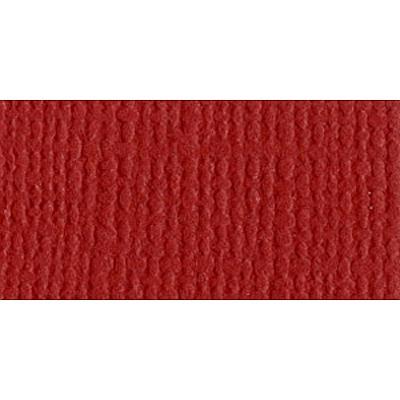 12x12 Bazzill Cardstock - Maraschino w/ Canvas Texture