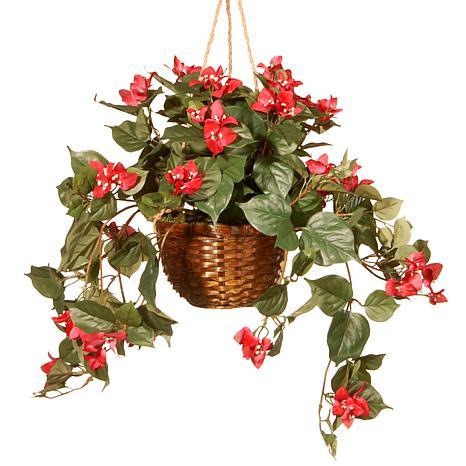 "13"" Artificial Flower Basket"