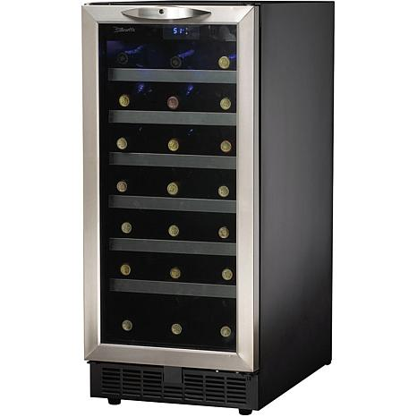ft 34bottle builtin wine cooler black - Built In Wine Cooler