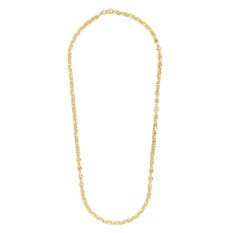 14K Yellow Gold 4.5mm Light Anchor Chain Necklace - 20""