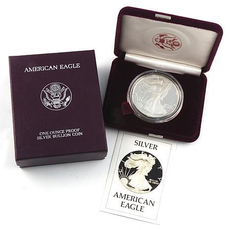 1986 Proof Silver Eagle Dollar