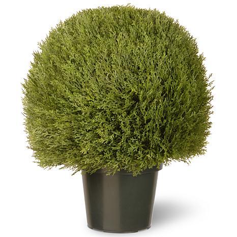 2' Artificial Topiary Cedar Pine
