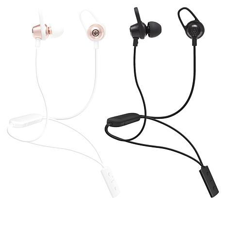 2-Pack Wicked Audio Bandido Wireless Earbuds with Neck Locks