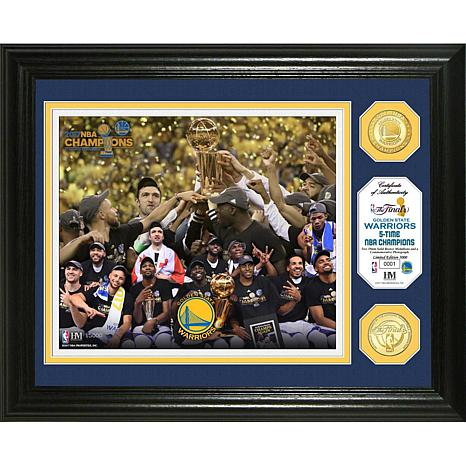 2017 NBA Champions Bronze Coin Photo Mint