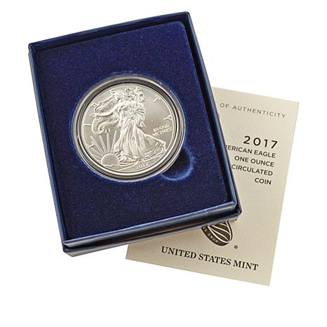 2017 Proof West Point Mint Silver Eagle Dollar Coin
