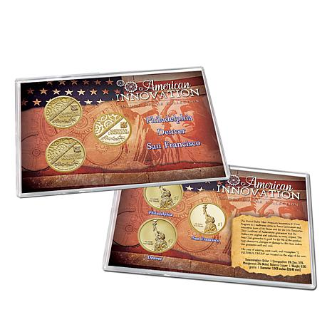 2018 PDS American Innovation Dollar 3-Coin Set with Auto-Ship<