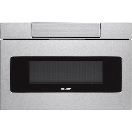 24 In. Flat Panel Microwave Drawer in Stainless Steel