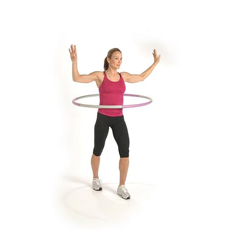 2.5-lb. Fitness Hoop with Workout DVD
