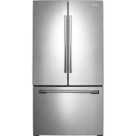 26 Cu. Ft. French Door Refrigerator with Filtered Ice Maker in Stai...