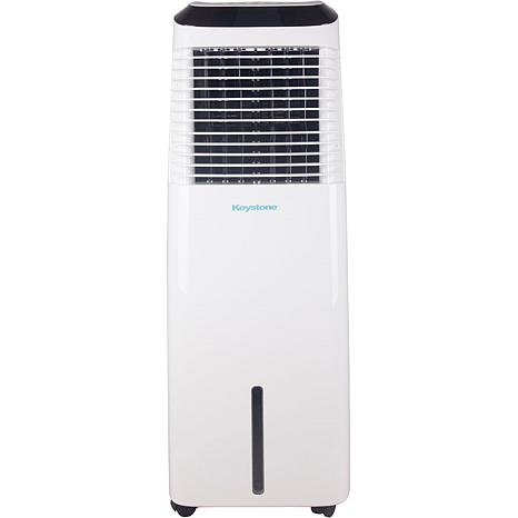 30-Liter White Indoor Evaporative Air Cooler with WiFi