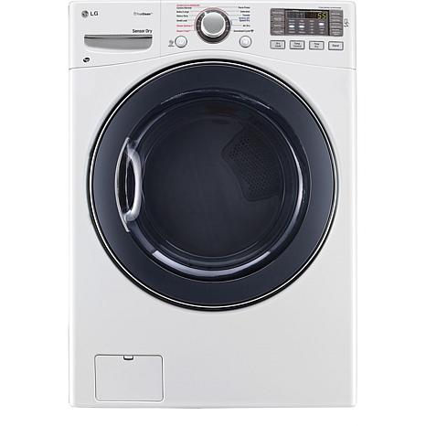 7.4 Cu. Ft. Electric SteamDryer - White