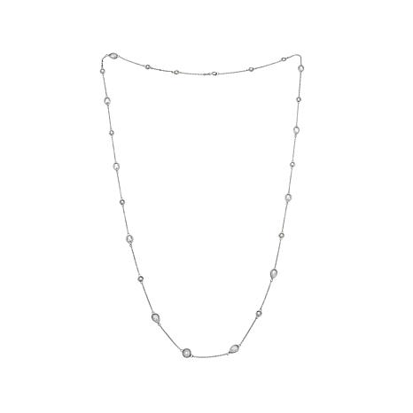 "Absolute™ 13.9ctw CZ ""By the Yard"" 36"" Station Necklace"