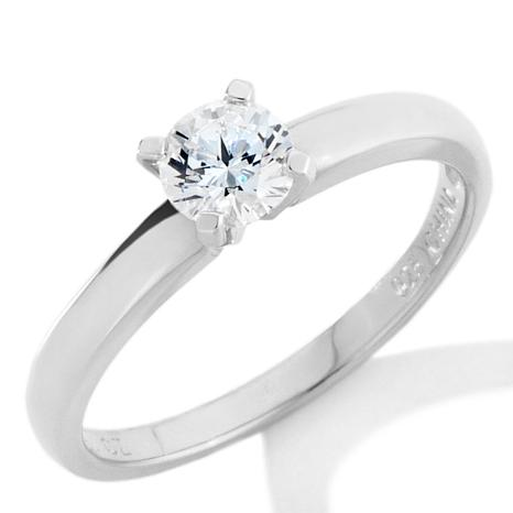 Absolute™ .50ctw Round Solitaire CZ Ring
