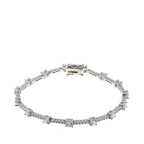 Absolute™ Cubic Zirconia Round Line Bracelet