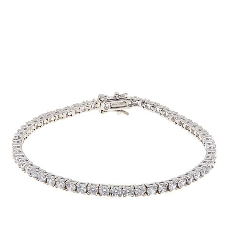 Absolute™ Sterling Silver 3mm Round Line Bracelet
