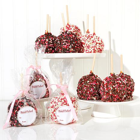 Affy Tapple 12-piece Pink Lady Holiday Caramel Apple Assortment