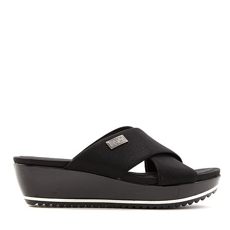 AK Sport Felisha Crisscross Wedge Sandal