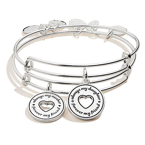 Alex and Ani Always Mine Set of 2 Bangles