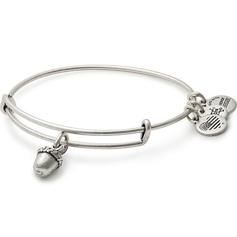 """Alex and Ani """"Unexpected Blessings"""" Adjustable Bangle Charm Bracelet"""