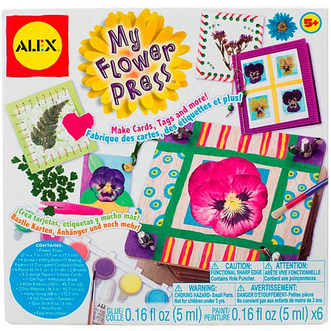 ALEX Toys Little Hands My Flower Press Kit