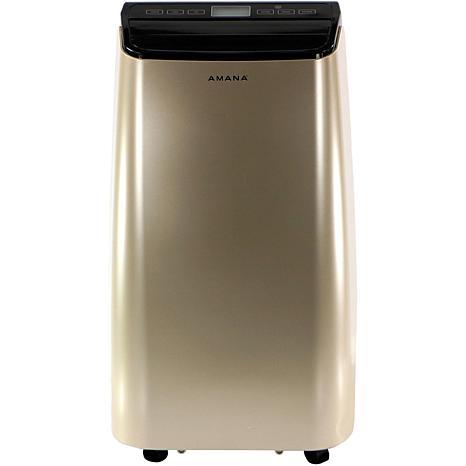 Amana Gold/Black 10,000 BTU Portable Air Conditioner w/Remote Control
