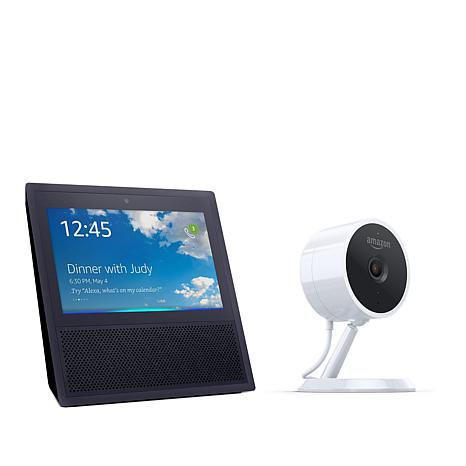 Amazon Echo Show Voice Assistant and Cloud Cam 1080p Security Camera