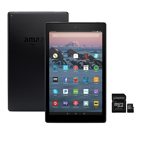 "Amazon Fire HD 10"" 32GB Alexa-Enabled Tablet with Special Offers"