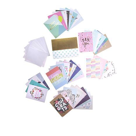 c604da0a374ab American Crafts All Occasion Greeting Card Kit 44-pieces