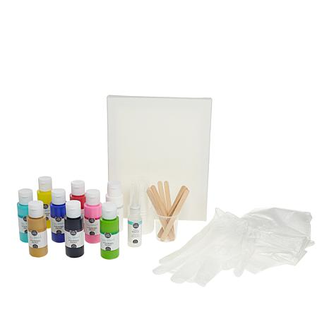 American Crafts Color Pour Paint Starter Kit