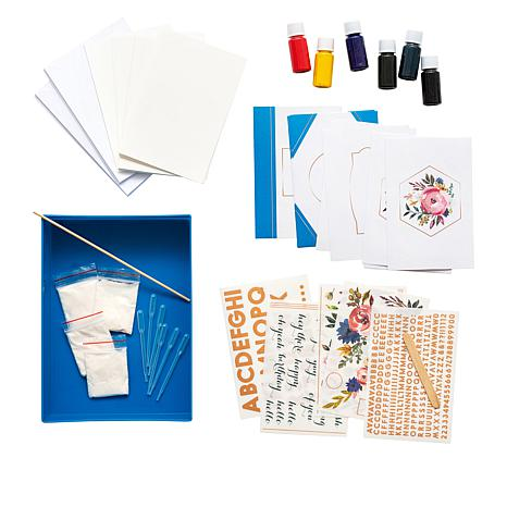American Crafts Marbling Card Making Kit