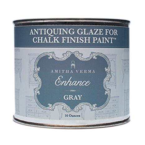 Amitha Verma Enhance Brown and Gray Antiquing Glaze