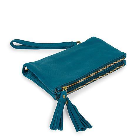 Amsterdam Heritage Angela Double Zipper Wallet Bag