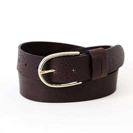 Amsterdam Heritage Drika Classic Brown Leather Belt